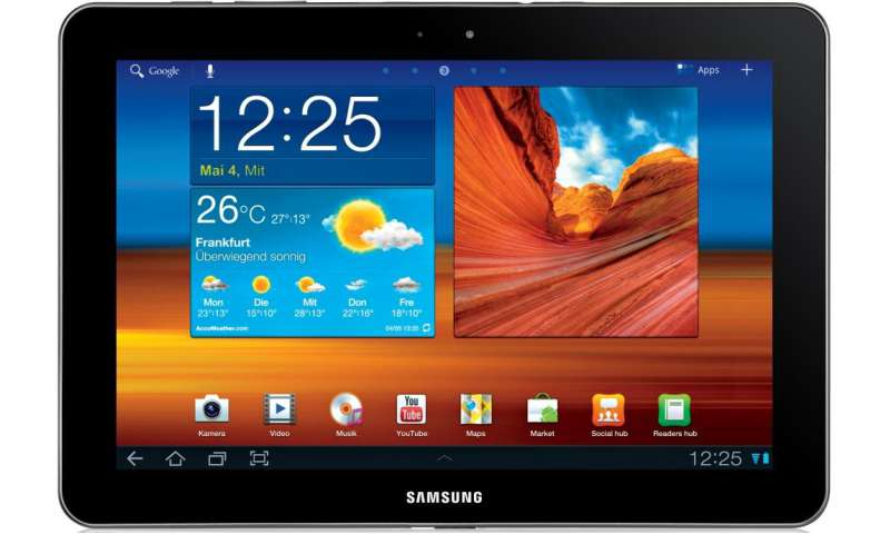 how to connect samsung galaxy tab a to pc