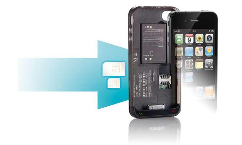 callstel adapter macht iphone 4 fit f r zwei sim karten connect. Black Bedroom Furniture Sets. Home Design Ideas