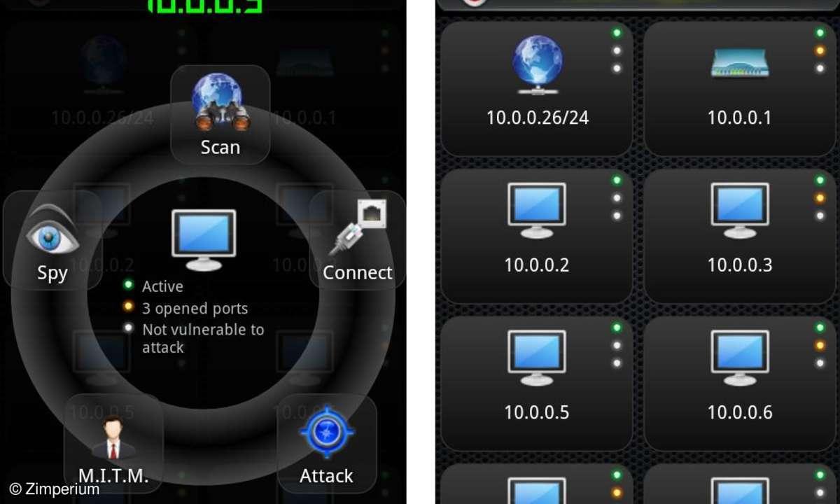 Hacker-Tool ANTI von Zimperium