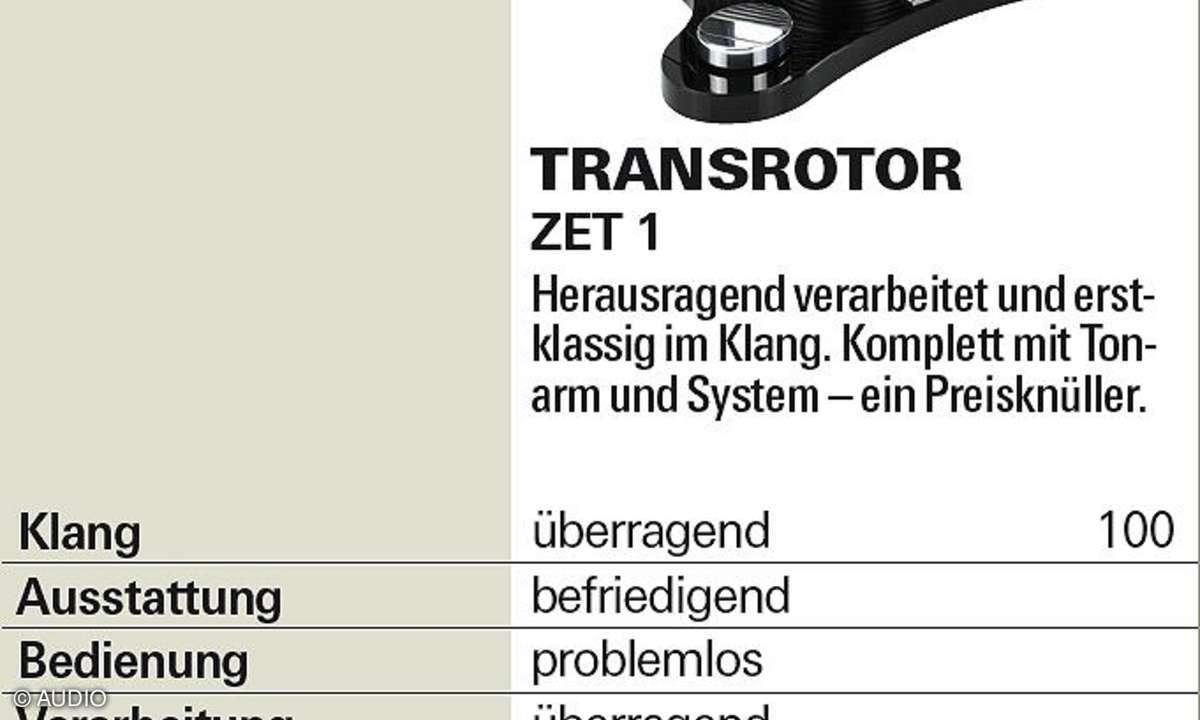 Transrotor ZET 1