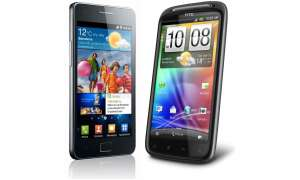 Samsung Galaxy S2 vs HTC Sensation
