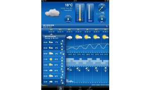 Apple iPad Weather Pro HD App