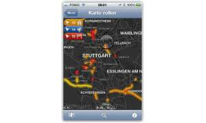 Platz 1: Tomtom App in Version 1.8