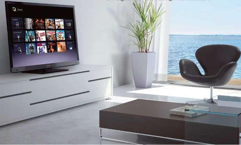 fernseher mit internetzugang im test connect. Black Bedroom Furniture Sets. Home Design Ideas