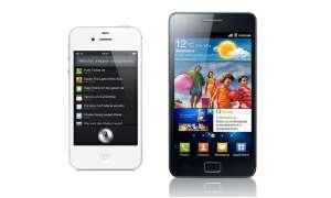 iPhone 4S versus Galaxy S2