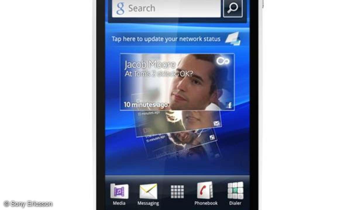 Sony Ericsson produziert ab 2012 nur noch Smartphones
