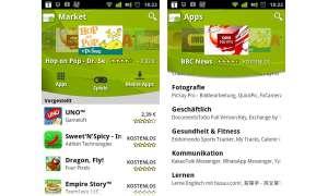 Android Market - über 319 000 Apps