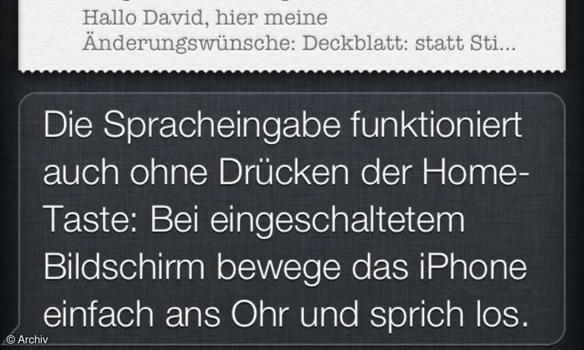 Siri im iPhone 4S