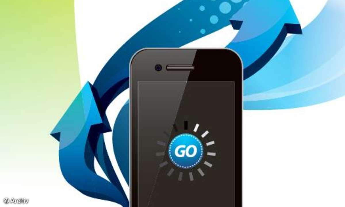 Datenübertragung von Smartphone zu Smartphone