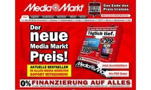 MediaMarkt-Angebote: Ein Handy, ein Smartphone und ein Navi