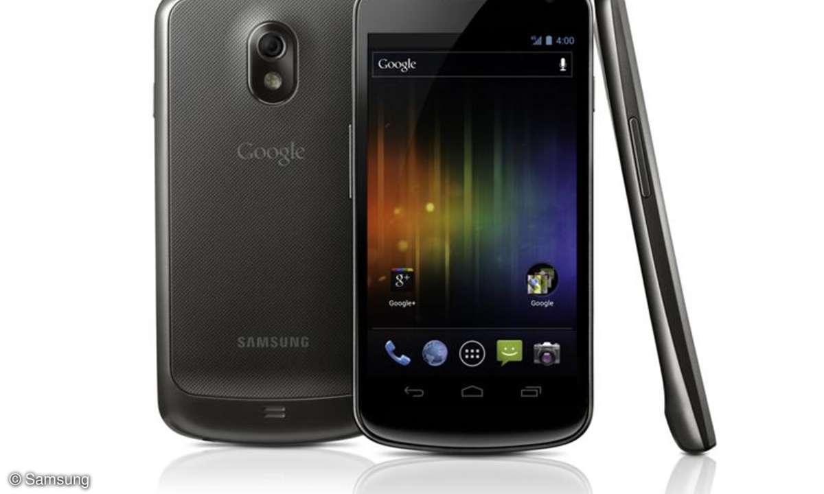 Galaxy Nexus Ende November lieferbar