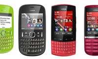 Nokia Asha: Vier neue Einfach-Handys mit Symbian