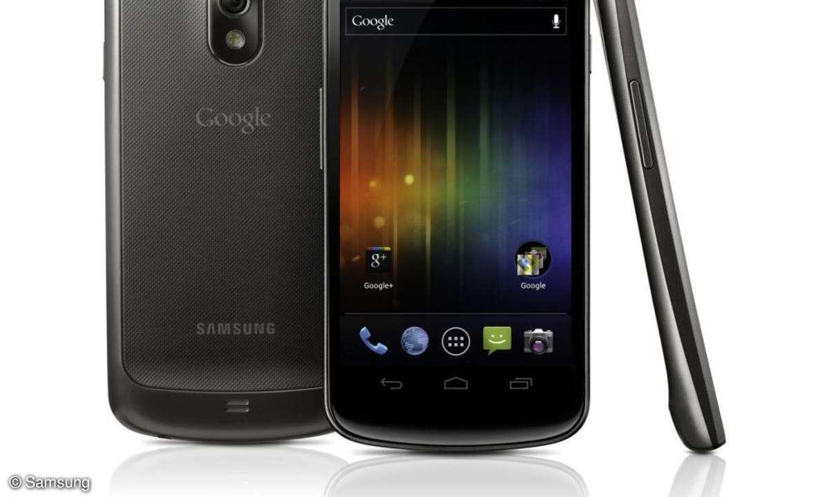 Samsung Galaxy Nexus ab 17. November lieferbar