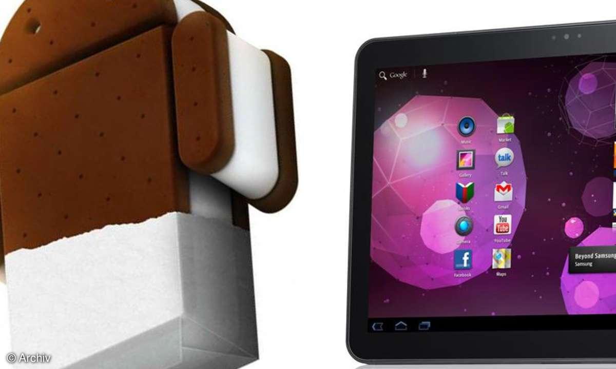 Android 4: Der Update-Fahrplan für Tablets