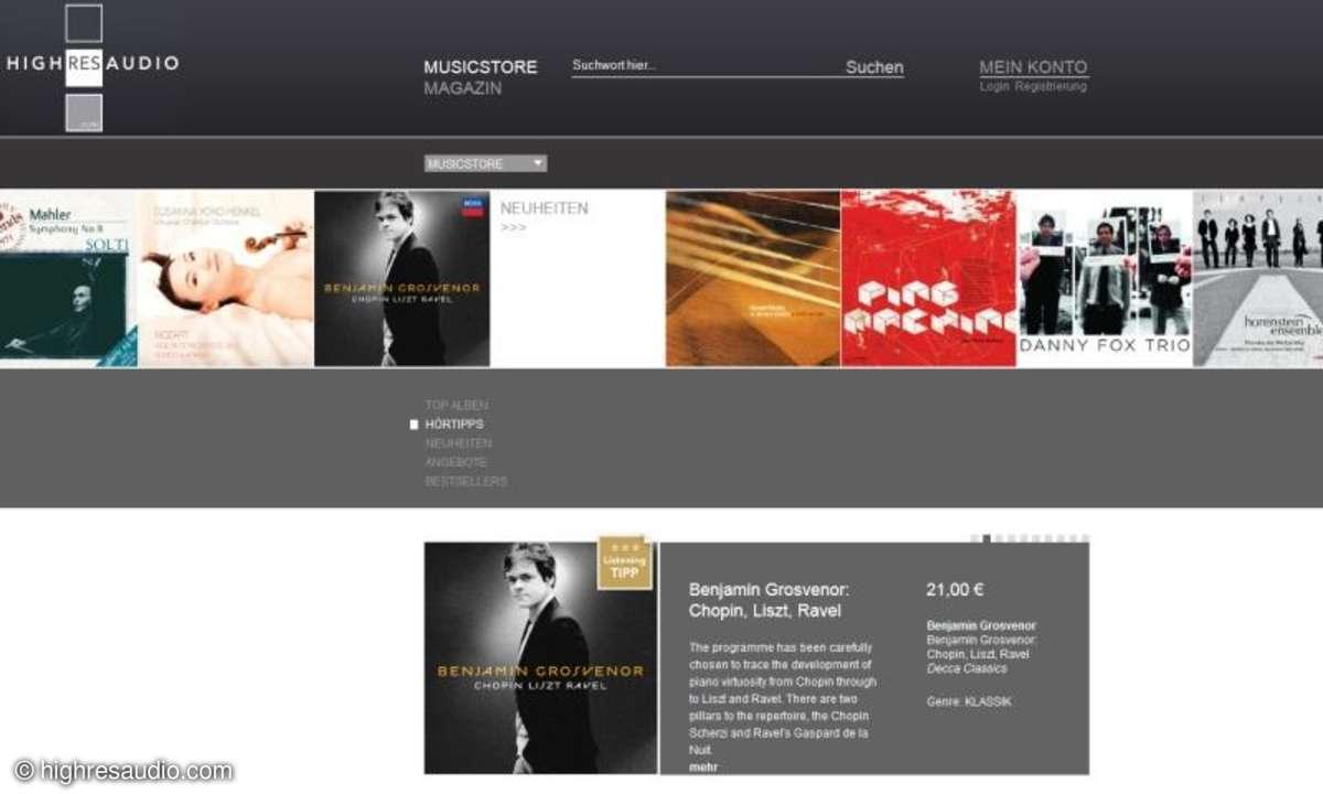 HighResAudio kooperiert mit Universal Music