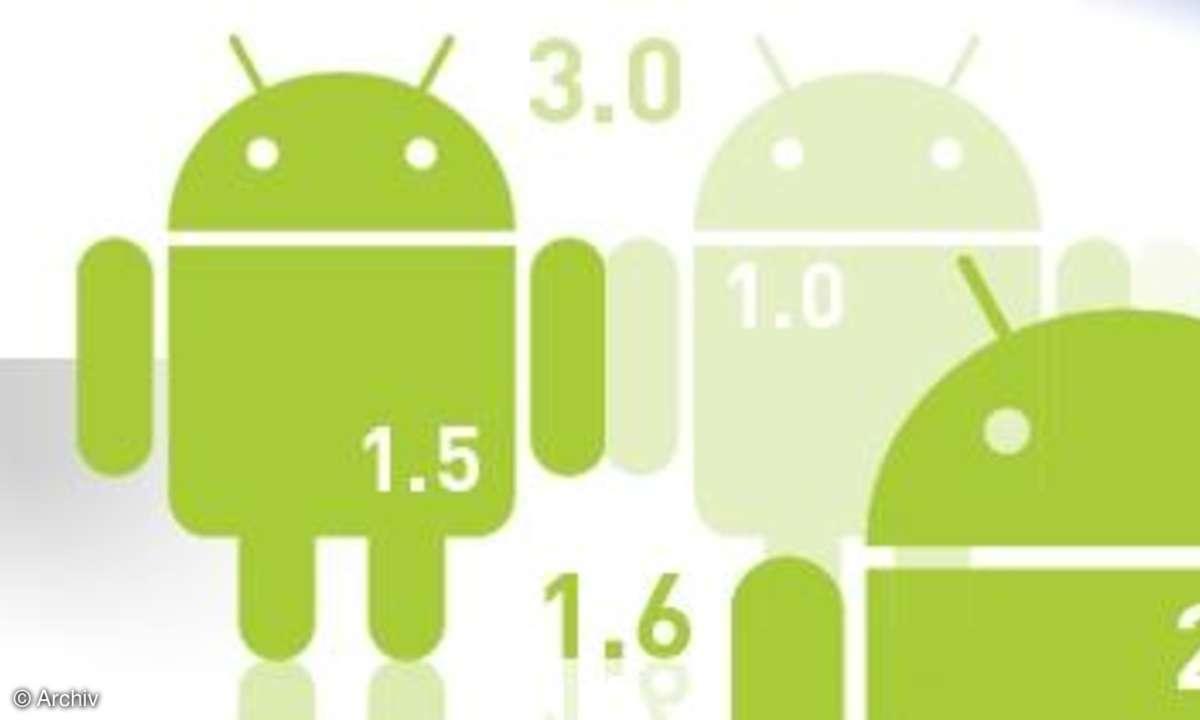 Android: Jetzt liegt Gingerbread erstmals vor Froyo
