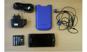 LG E904 Jil SanderMobile ausgepackt