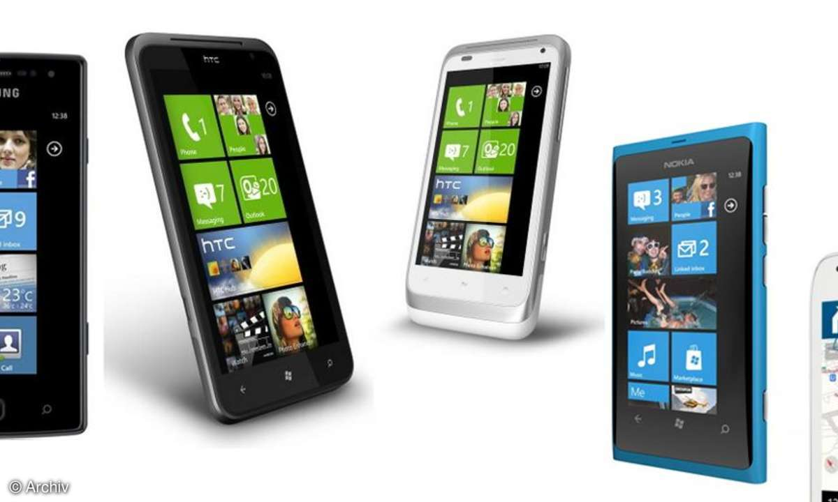 Windows Phone 7.5 - Die Mango-Phones kommen