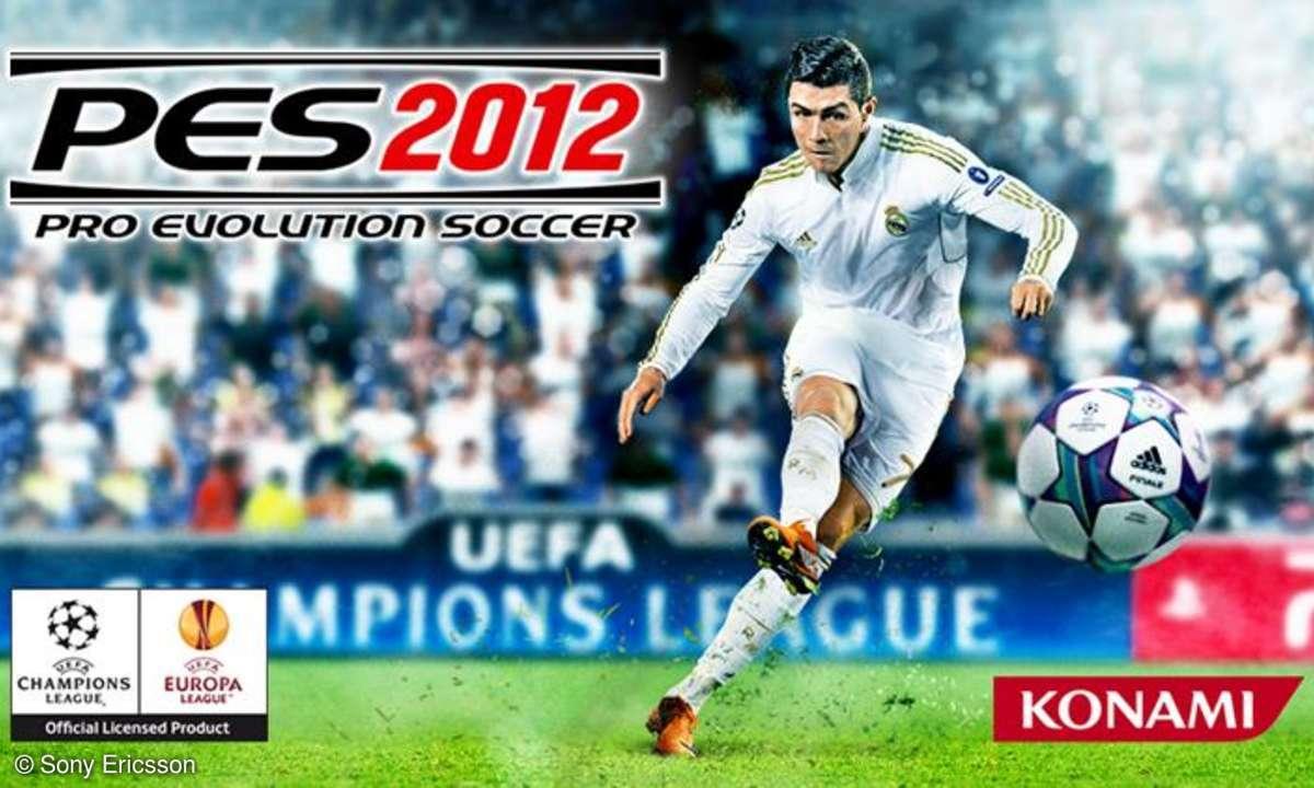 PES 2012 für das Xperia Play