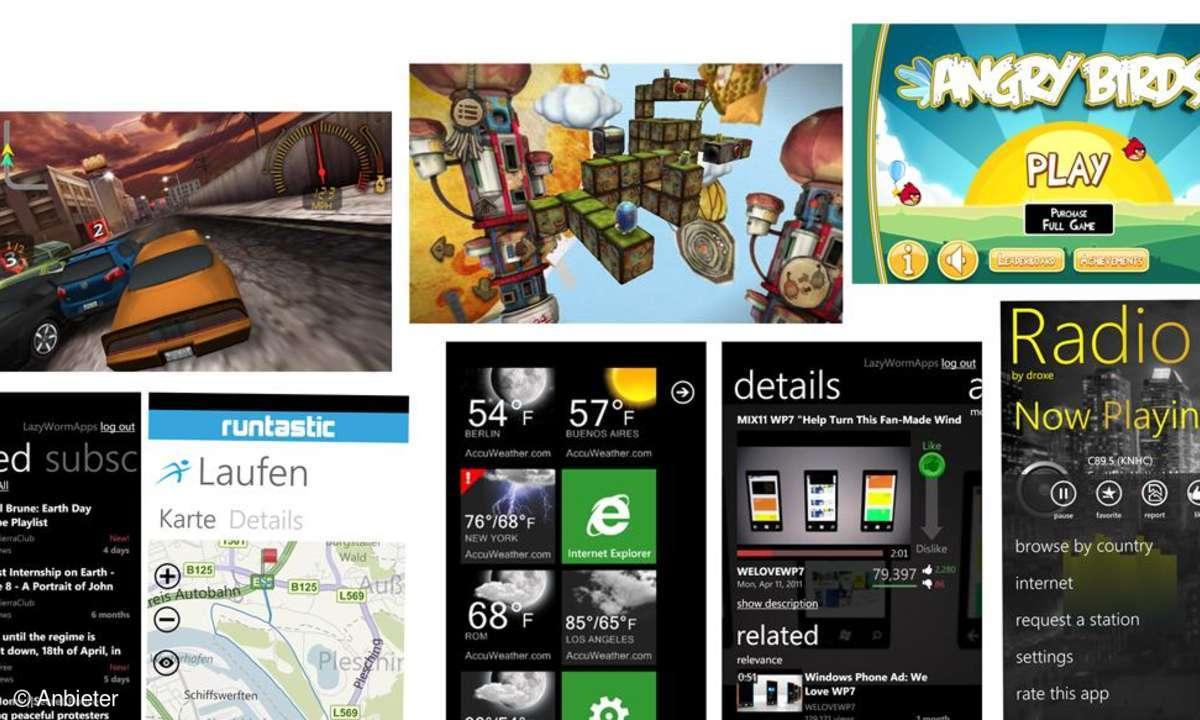 Top-Apps für Windows Phone