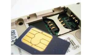 Eine Riese: Die klassische SIM-Karte
