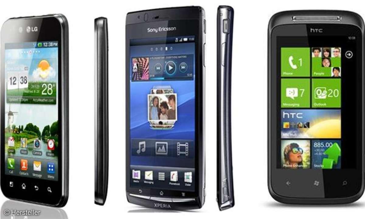 Highend-Smartphones zum Kampfpreis