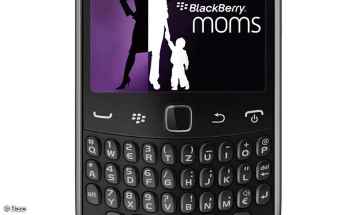 Blackberry-Aktion für Mamis