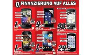 MediaMarkt-Angebote: Galaxy S II, Nokia Lumia 800 und weitere