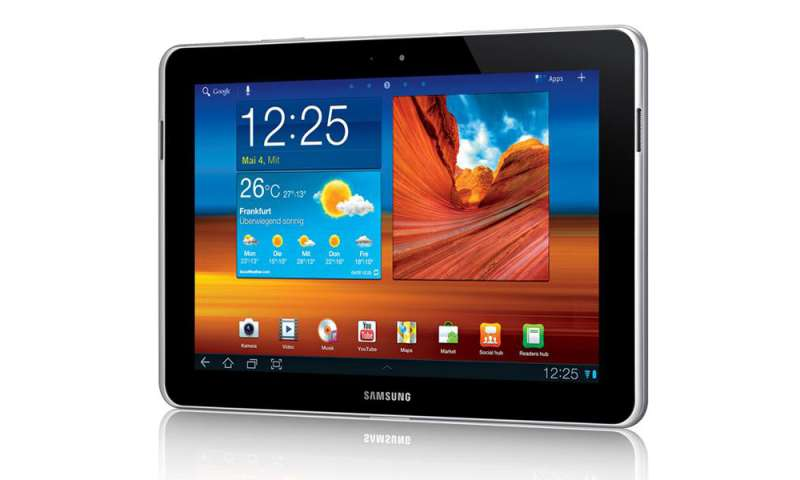 Samsung Galaxy Tab 10.1N in the Test