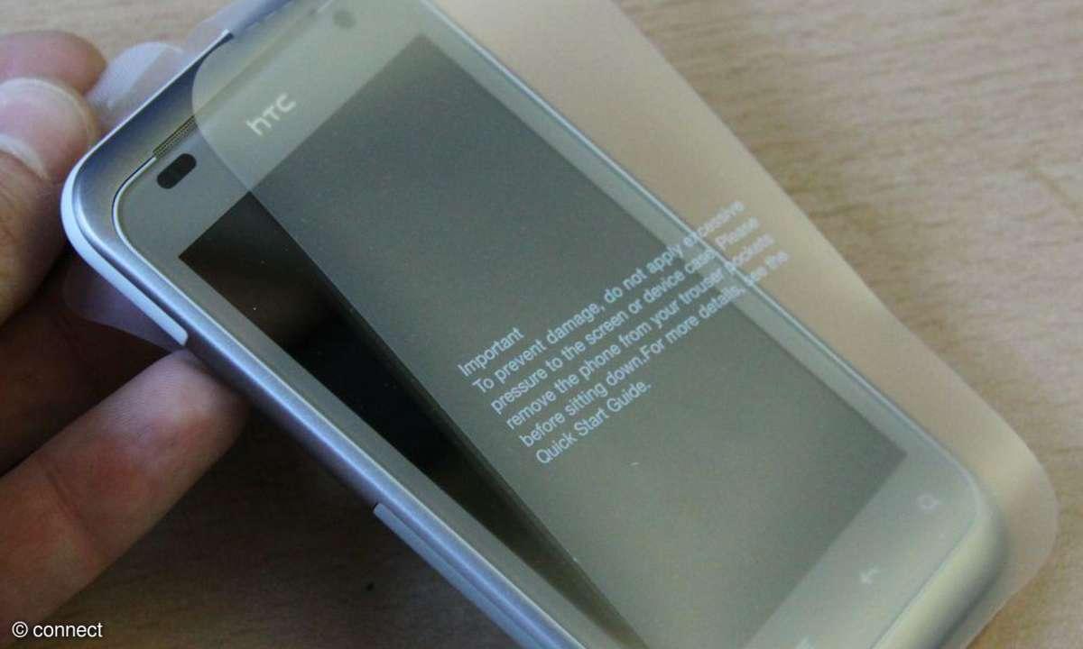 HTC Rhyme ausgepackt