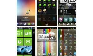 Alternative Oberflächen für Android