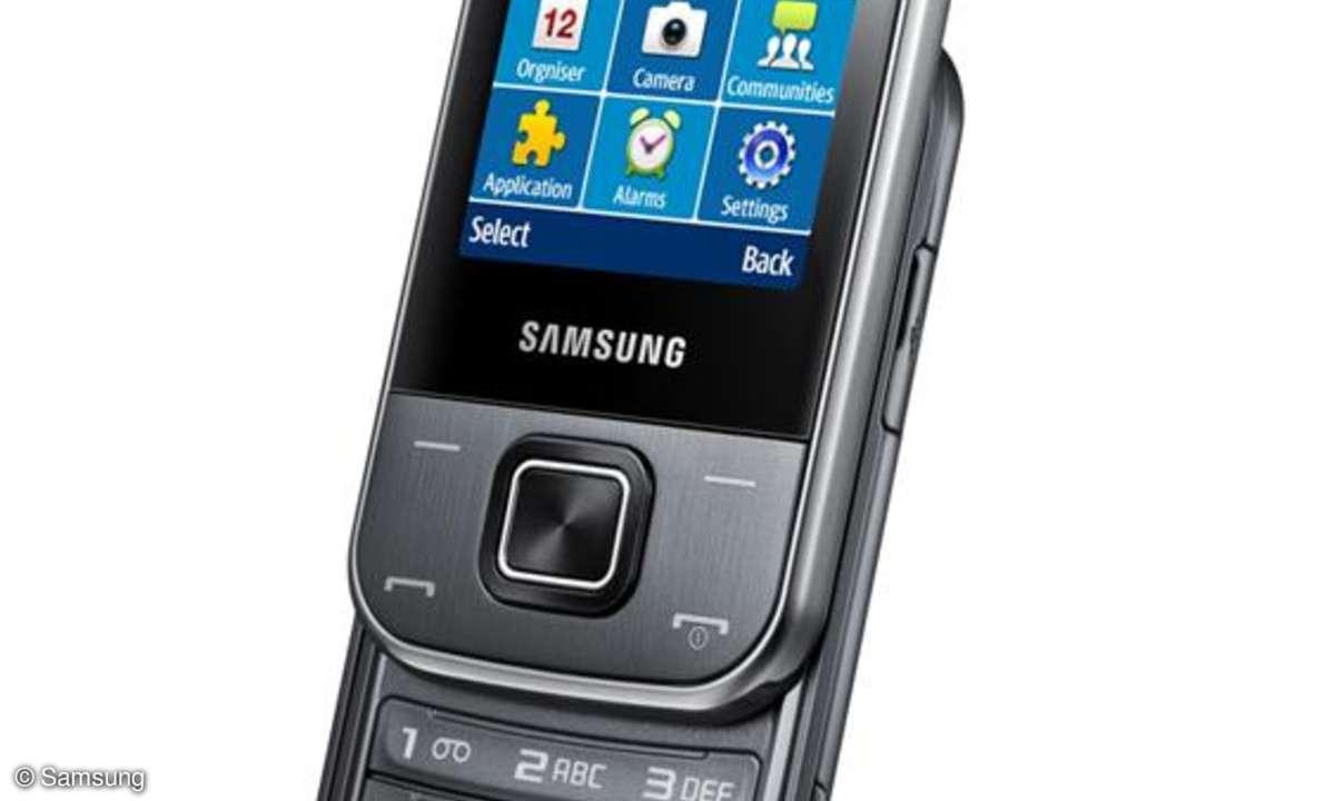 Zwei Einsteigerhandys von Samsung