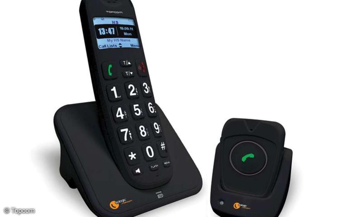 Topcom bringt zwei neue Notfall-Telefonsysteme