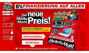 Media Markt-Aktion: iPad2, Dell Streak7 und Samsung S Plus im Angebot