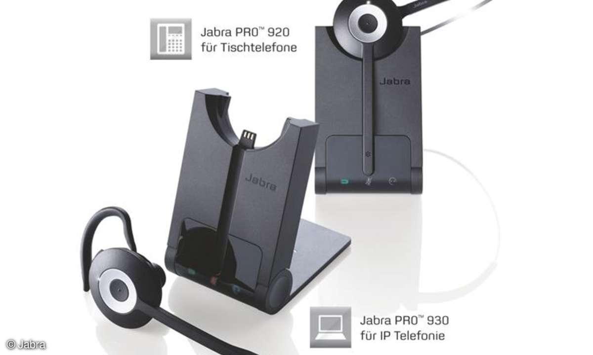 Jabra bringt neue Profi-DECT-Headsets