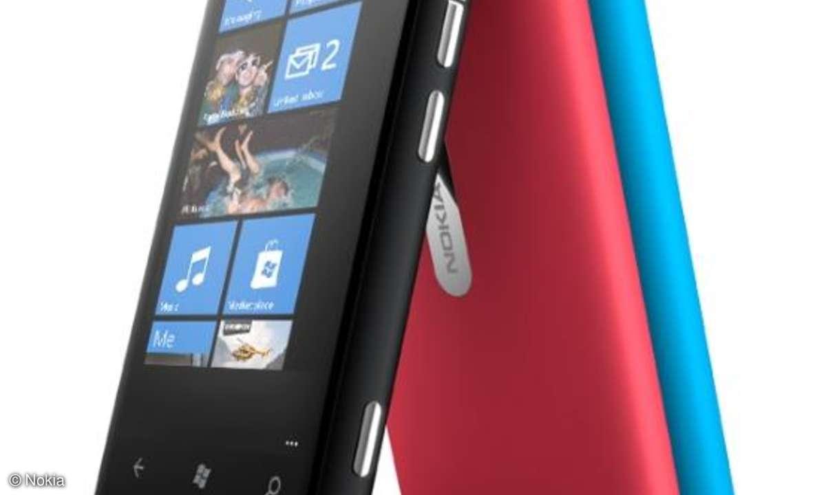 Update für Nokia Lumia 800 verbessert Akku-Laufzeit