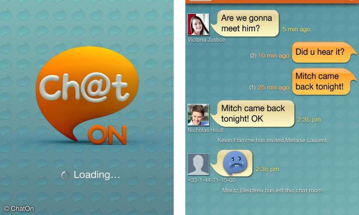 ChatOn - Samsung-Messenger im Check
