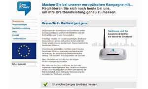 EU sucht Tester für Breitbandstudie