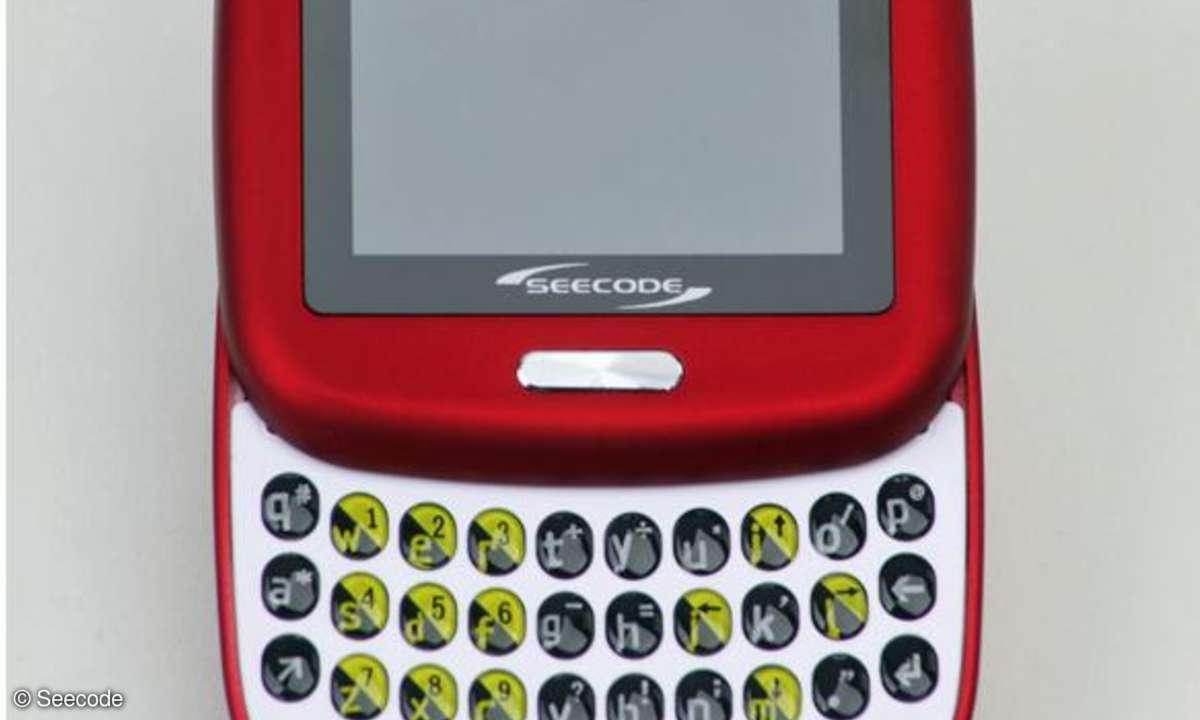 Seecode S40: Minihandy mit vollständiger Tastatur