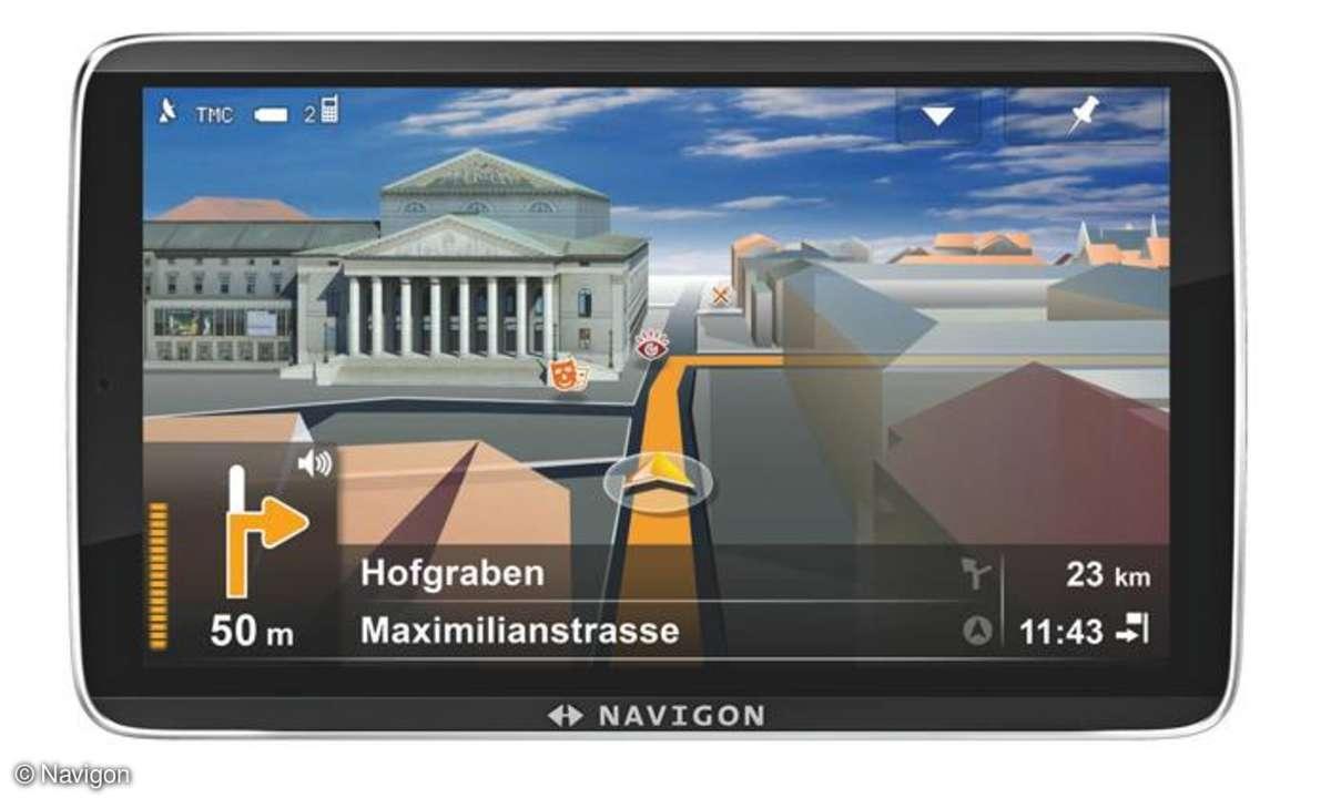 Navigon 92: Drei neue Edelnavi-Modelle