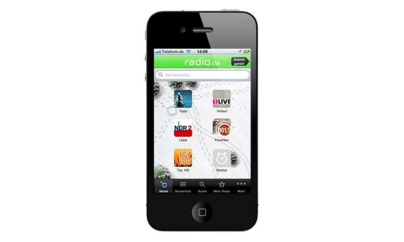 Radiowecker App Android