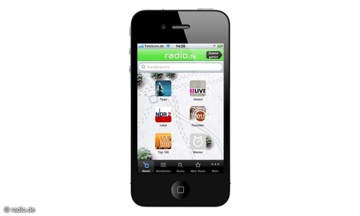 App macht Smartphones zum Radiowecker