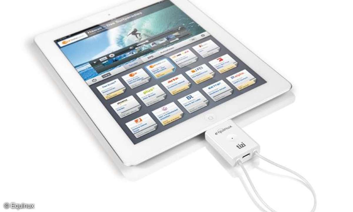Mobiler TV-Empfänger fürs iPad 2