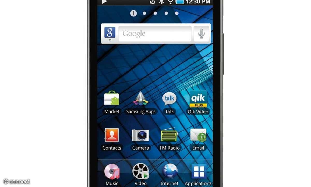 Samsung Galaxy S WiFi 5.0 im Test
