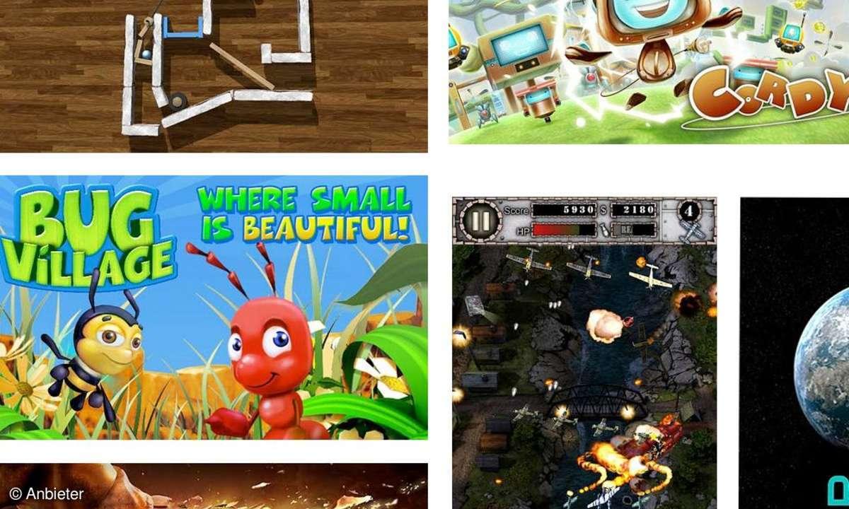 Die besten Android-Spiele 2011