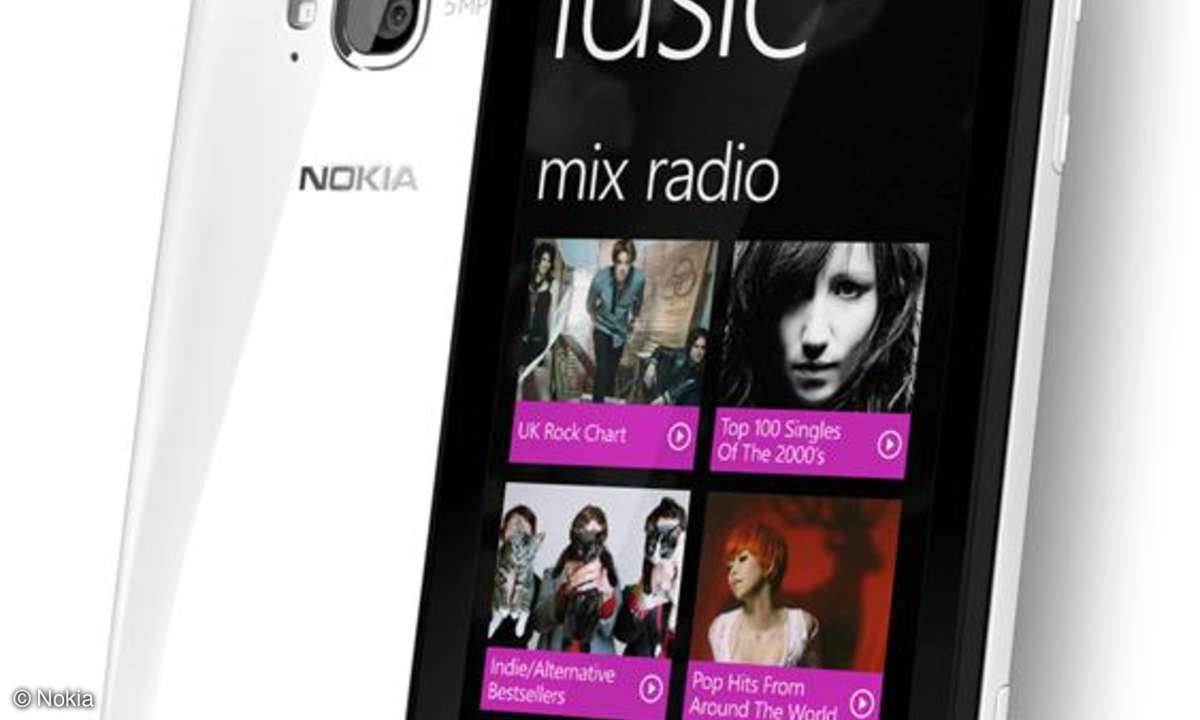 Nokia Lumia 710: Jetzt verfügbar