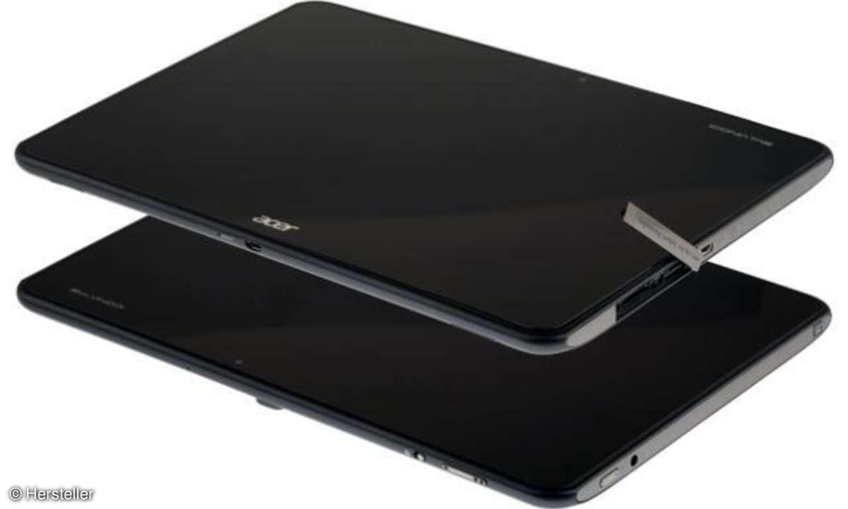 Acer zeigt HD-Tablet mit Vierkern-Prozessor