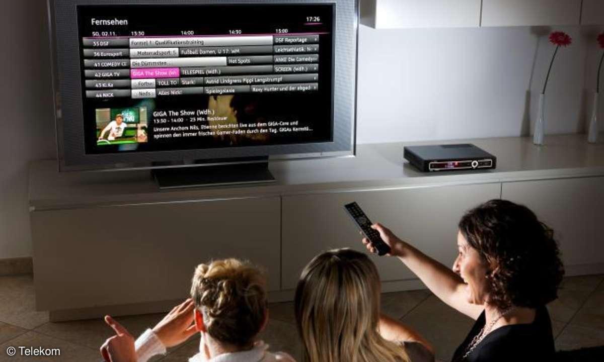 Telekom Entertain: Bald mit geräteübergreifendem TV-Angebot