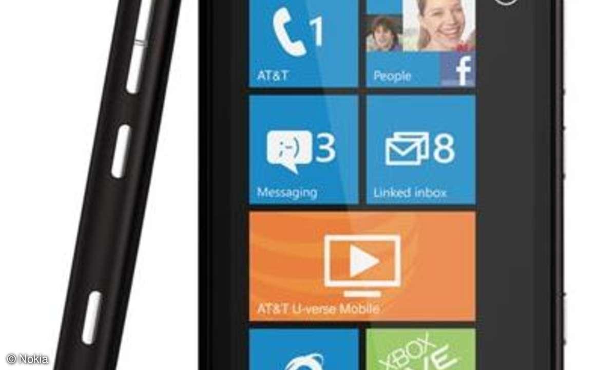 CES: Nokia stellt Topmodell Lumia 900 vor