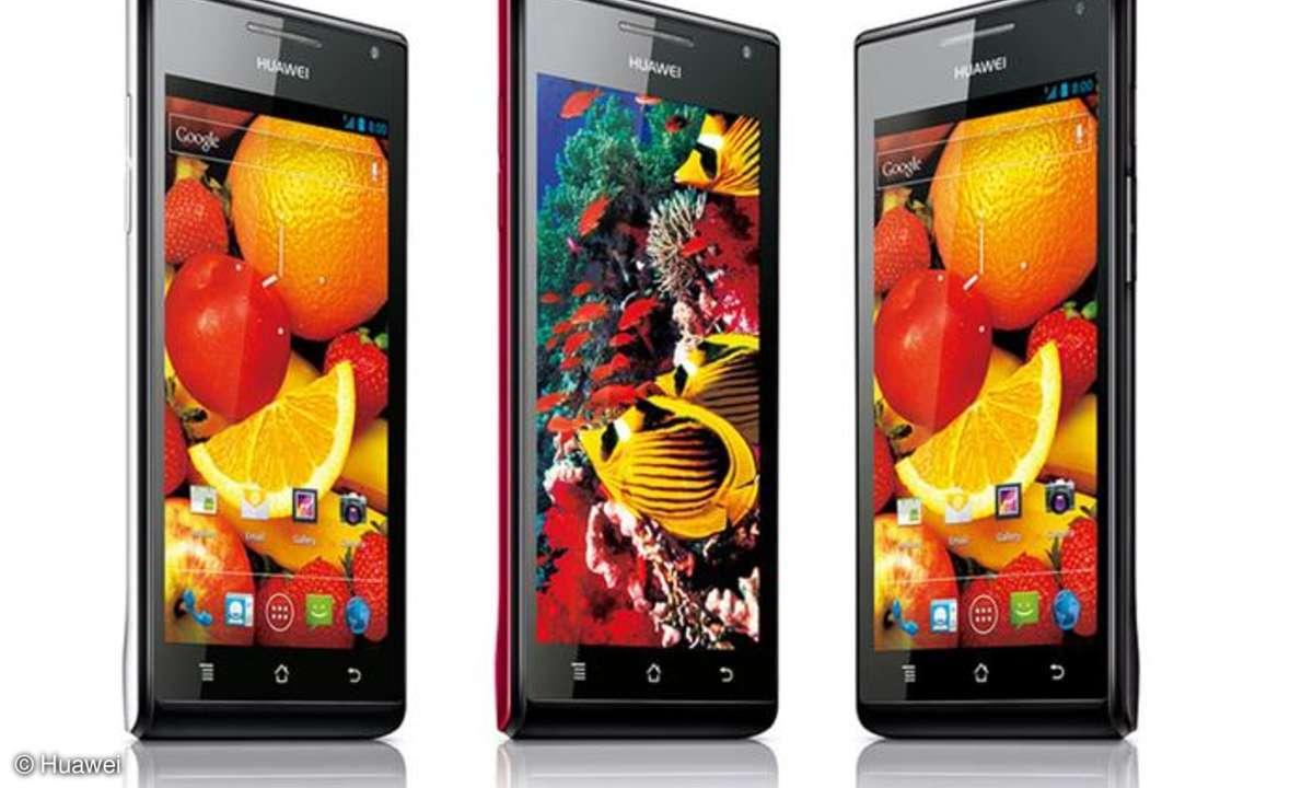CES: Huawei stellt dünnstes Android-Smartphone vor